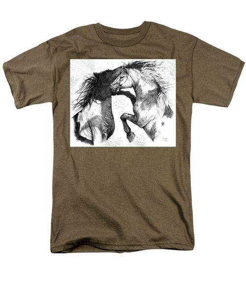 Wild And Free Men's T-Shirt  (Regular Fit) by Heidi Kriel