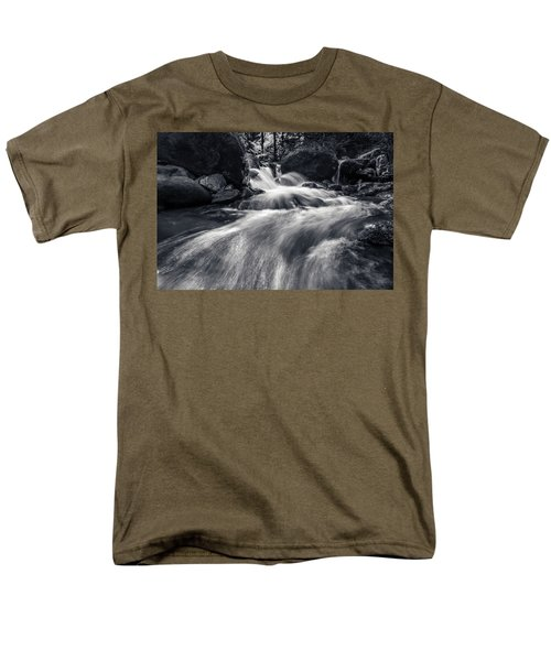 wild creek in Harz, Germany Men's T-Shirt  (Regular Fit) by Andreas Levi
