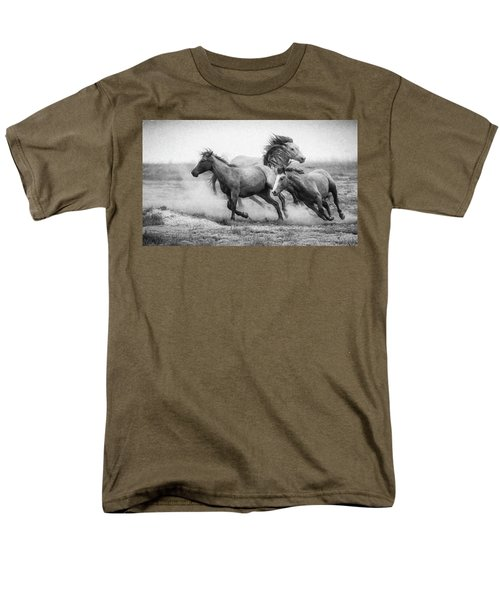 Men's T-Shirt  (Regular Fit) featuring the photograph Wild West by Kelly Marquardt