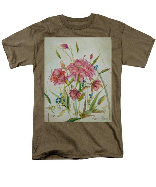 Wildflowers Men's T-Shirt  (Regular Fit) by Judith Rhue
