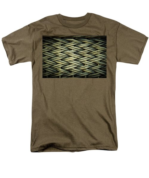 Men's T-Shirt  (Regular Fit) featuring the photograph Willow Weave by Les Cunliffe