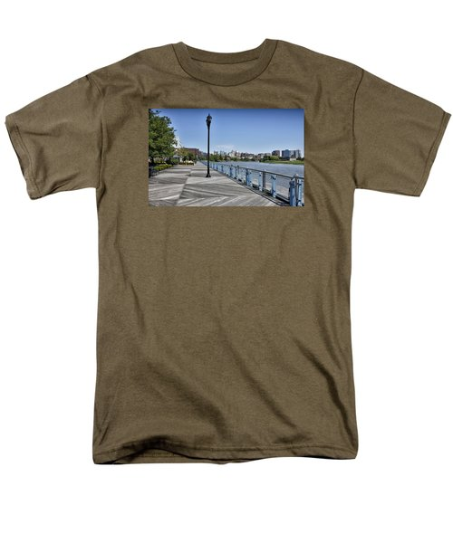 Wilmington Riverwalk - Delaware Men's T-Shirt  (Regular Fit) by Brendan Reals