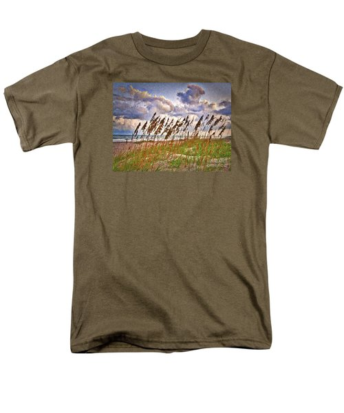 Wind And Waves  ... Men's T-Shirt  (Regular Fit) by Chuck Caramella
