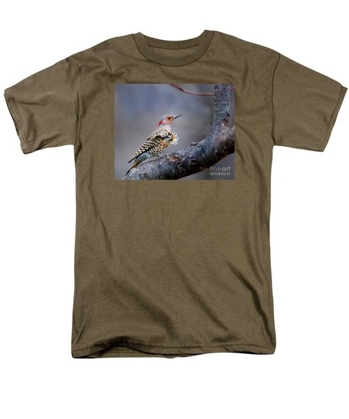 Men's T-Shirt  (Regular Fit) featuring the photograph Wind Blown Flicker by Nava Thompson