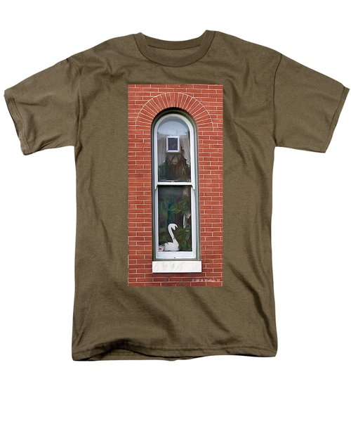 Men's T-Shirt  (Regular Fit) featuring the photograph Window Dressing by Brian Wallace