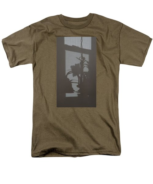 Men's T-Shirt  (Regular Fit) featuring the photograph Window Shadows 1 by Don Koester