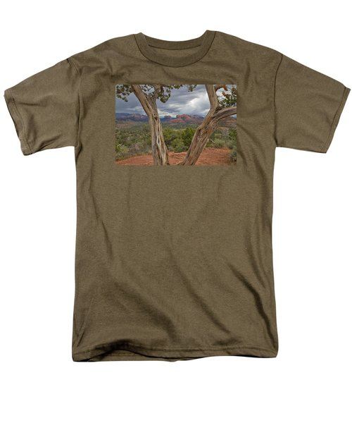 Men's T-Shirt  (Regular Fit) featuring the photograph Window View by Tom Kelly