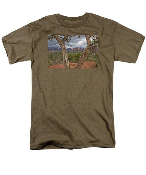 Window View Men's T-Shirt  (Regular Fit) by Tom Kelly