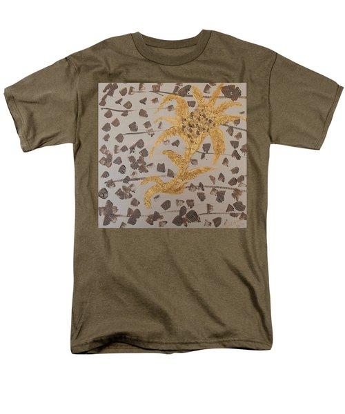 Windswept Golden Plantae #4 Men's T-Shirt  (Regular Fit) by Rachel Hannah