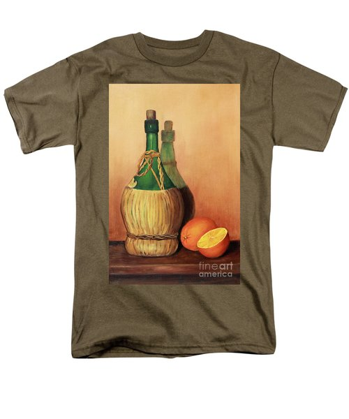 Wine And Oranges Men's T-Shirt  (Regular Fit) by Pattie Calfy