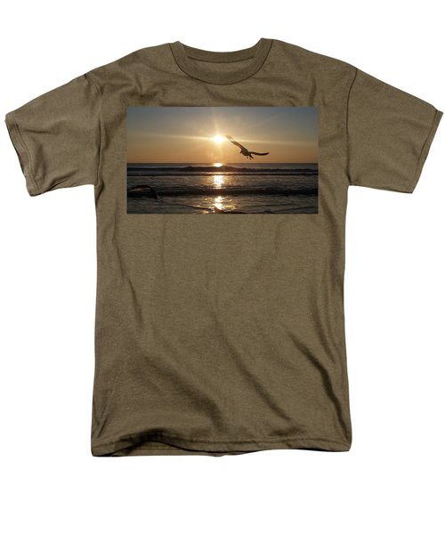 Wings Of Sunrise Men's T-Shirt  (Regular Fit)