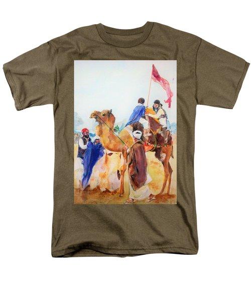 Winning Celebration Men's T-Shirt  (Regular Fit) by Khalid Saeed