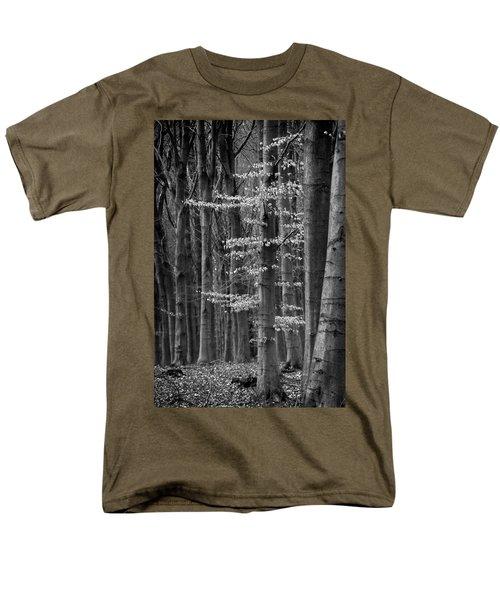 Winter Beech Men's T-Shirt  (Regular Fit)