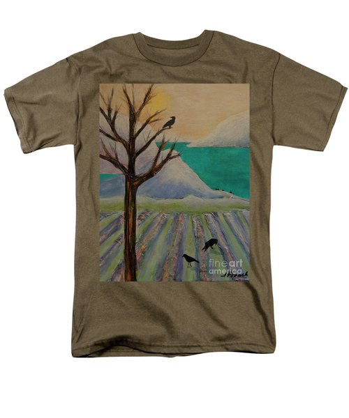 Winter Crows Men's T-Shirt  (Regular Fit) by Jeanette French