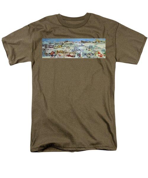 Winter Goose - Sold Men's T-Shirt  (Regular Fit) by Judith Espinoza