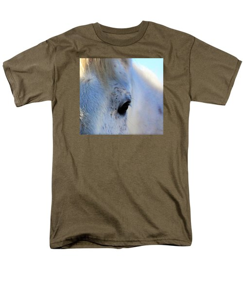 Men's T-Shirt  (Regular Fit) featuring the photograph Winter Horse by Deborah Moen