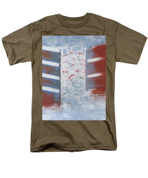 Winter In Chernogolovka Men's T-Shirt  (Regular Fit) by Tamara Savchenko