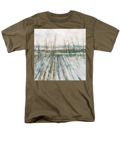 Winter On The Delta Men's T-Shirt  (Regular Fit) by Robin Miller-Bookhout