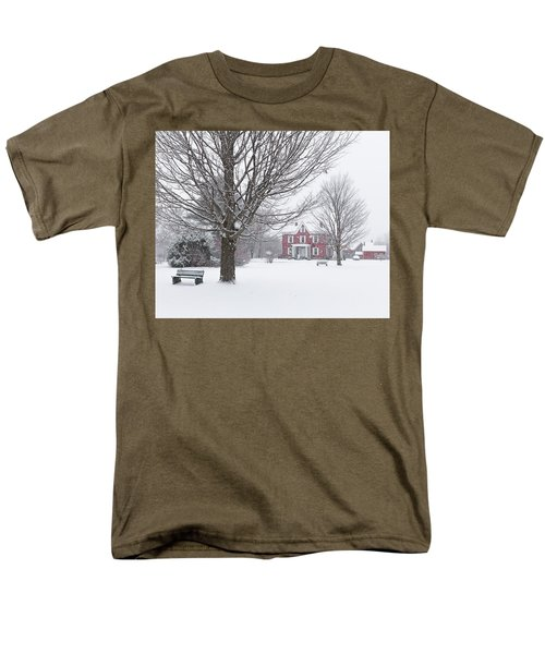 Winter Scene Men's T-Shirt  (Regular Fit) by Tim Kirchoff