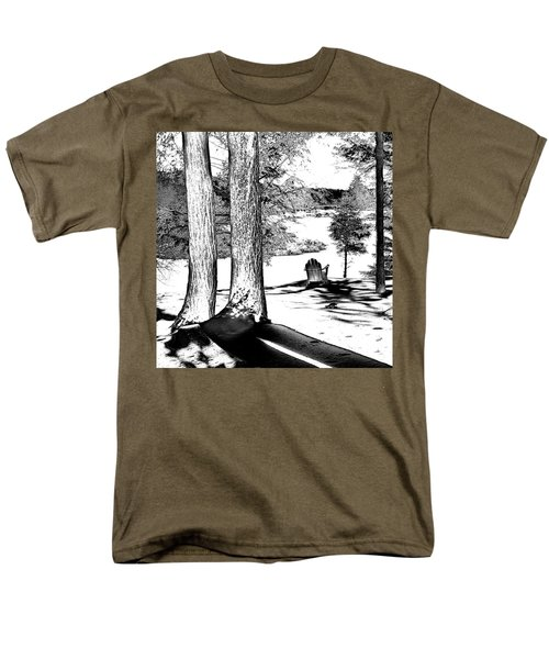 Men's T-Shirt  (Regular Fit) featuring the photograph Winter Shadows by David Patterson