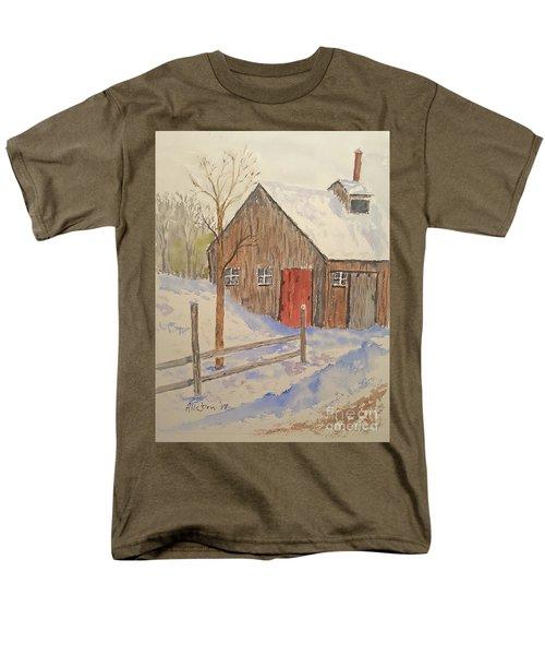 Winter Sugar House Men's T-Shirt  (Regular Fit) by Stanton Allaben