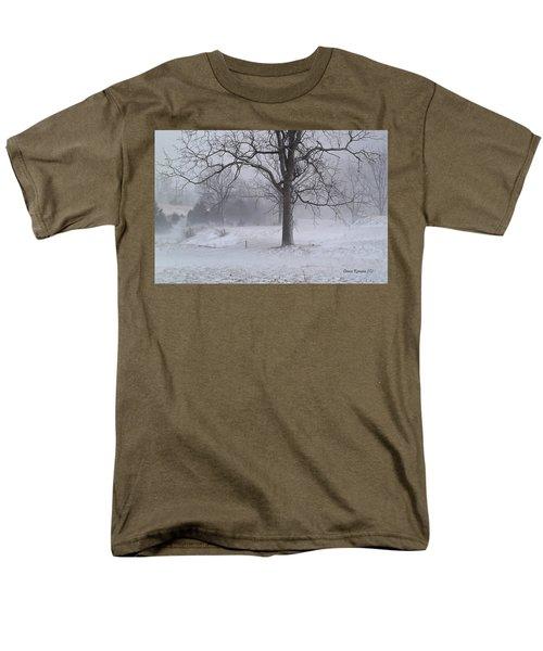 Winter Walnut Men's T-Shirt  (Regular Fit) by Denise Romano
