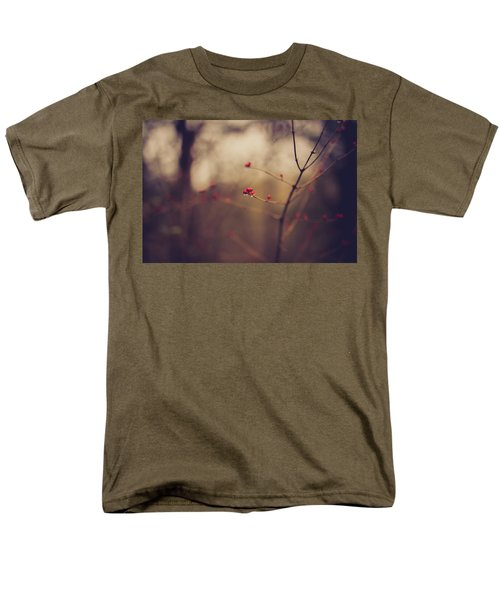 Men's T-Shirt  (Regular Fit) featuring the photograph Winter Whispers by Shane Holsclaw
