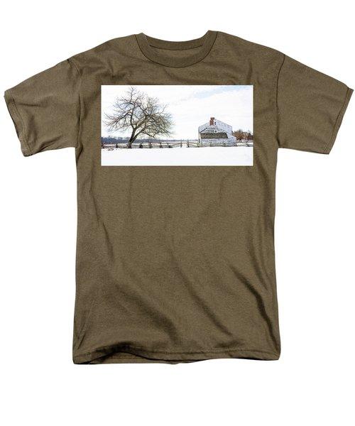 Winter White Out Men's T-Shirt  (Regular Fit) by Debra Fedchin