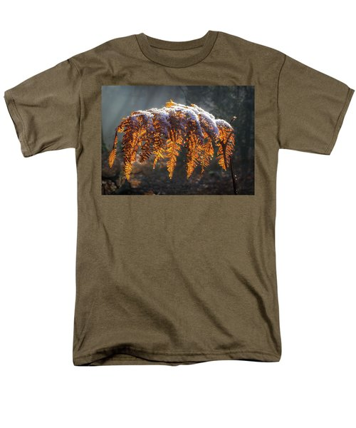 Winter Woods Men's T-Shirt  (Regular Fit) by Shirley Mitchell