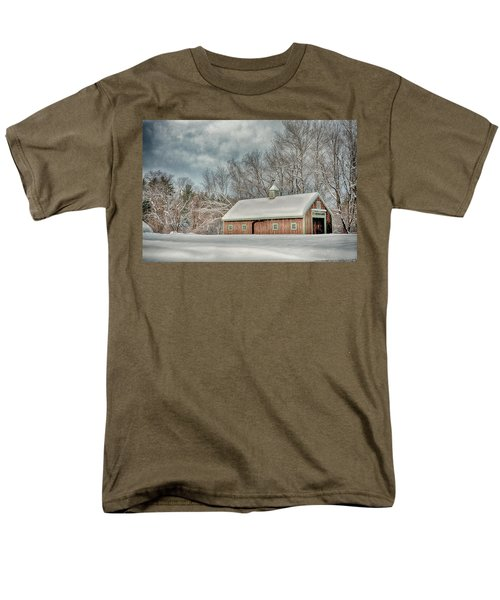Winters Coming Men's T-Shirt  (Regular Fit) by Tricia Marchlik