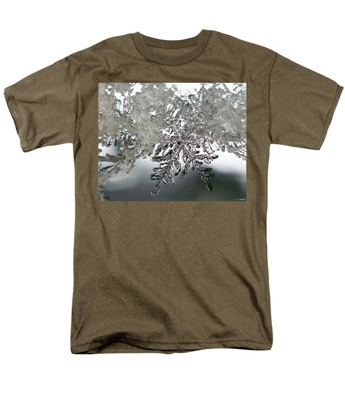 Winter's Glory Men's T-Shirt  (Regular Fit) by Lauren Radke