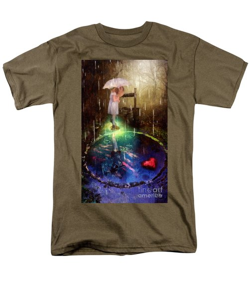 Wishing Well Men's T-Shirt  (Regular Fit) by Mo T