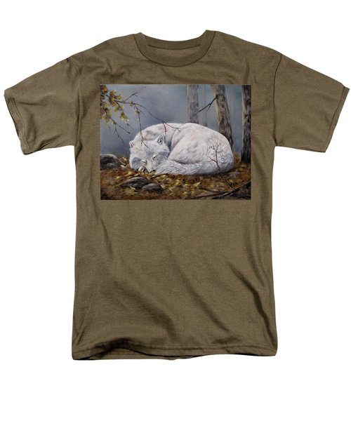 Wolf Dreams Men's T-Shirt  (Regular Fit)