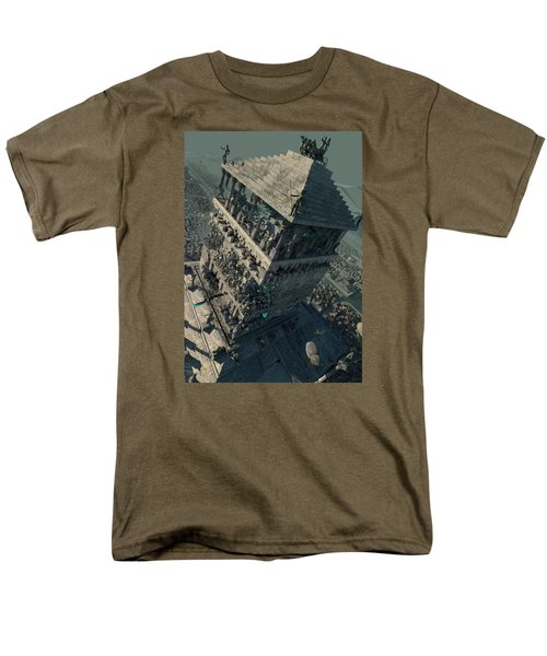 wonders Mausoleum at Halicarnassus Men's T-Shirt  (Regular Fit) by Te Hu
