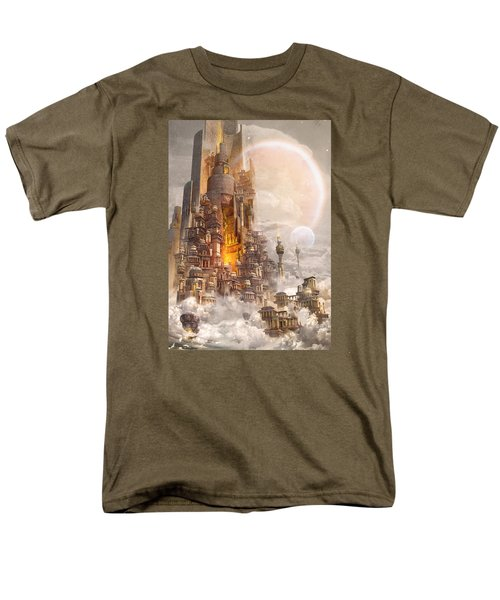 Wonders Tower Of Babylon Men's T-Shirt  (Regular Fit) by Te Hu