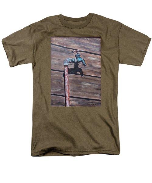 Wood And Metal Men's T-Shirt  (Regular Fit)
