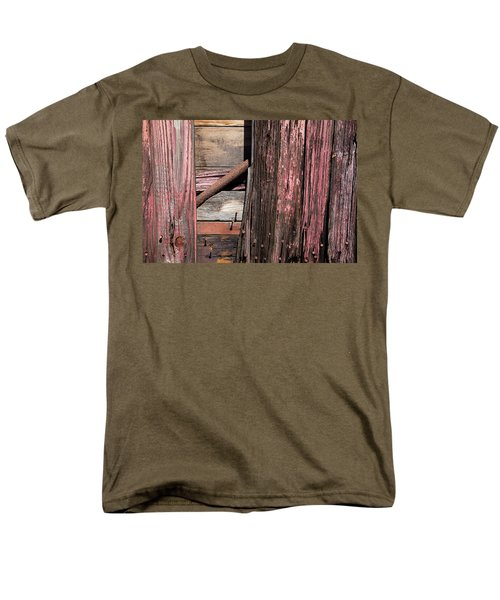 Men's T-Shirt  (Regular Fit) featuring the photograph Wood And Rod by Karol Livote