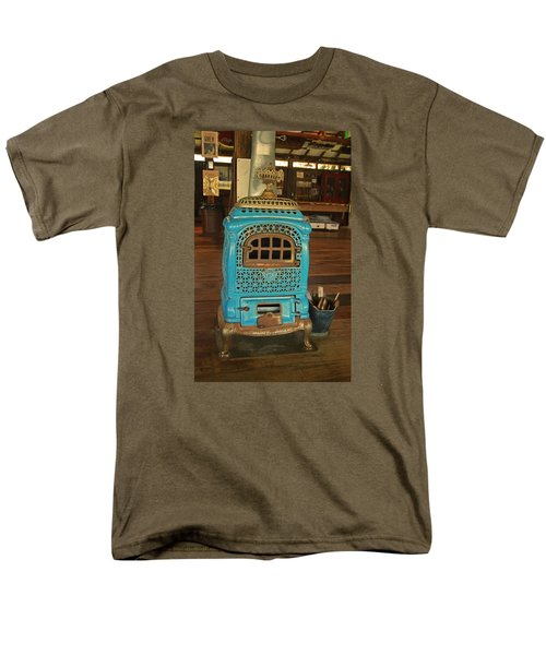 Wood Burning Heater Men's T-Shirt  (Regular Fit) by Ronald Olivier