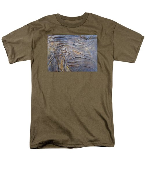 Wood Face  Men's T-Shirt  (Regular Fit) by Steve  Hester