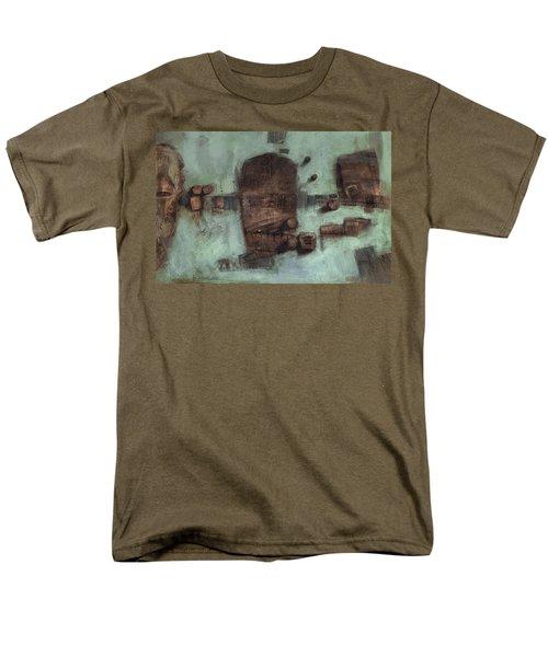 Symbol Mask Painting - 05 Men's T-Shirt  (Regular Fit) by Behzad Sohrabi