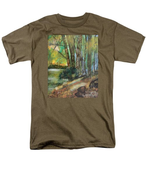 Woods In The Afternoon Men's T-Shirt  (Regular Fit) by Robin Maria Pedrero