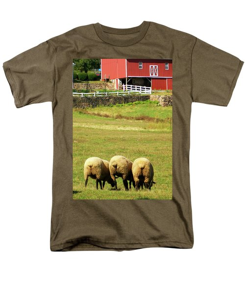 Wooly Bully Men's T-Shirt  (Regular Fit) by Trish Tritz