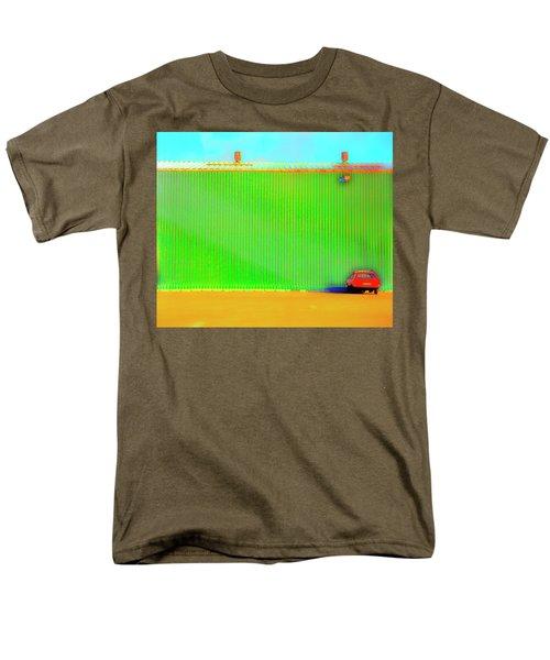 Working Late Men's T-Shirt  (Regular Fit) by Jan W Faul