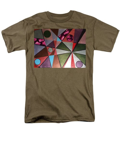 Men's T-Shirt  (Regular Fit) featuring the painting World In Mind by Hang Ho