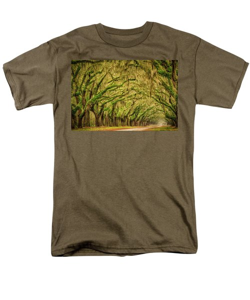 Wormsloe Drive Men's T-Shirt  (Regular Fit) by Phyllis Peterson
