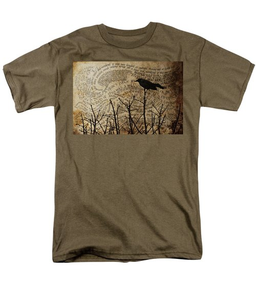 Men's T-Shirt  (Regular Fit) featuring the photograph Written On The Wind by Jan Amiss Photography