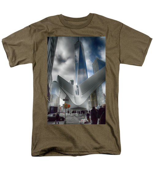 Wtc Oculus - Freedom Tower Men's T-Shirt  (Regular Fit) by Dyle Warren
