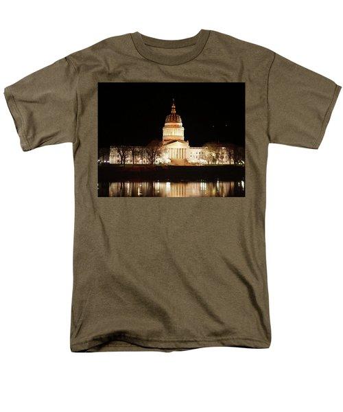 Wv Capital Building Men's T-Shirt  (Regular Fit)