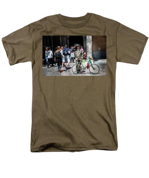 Ww II Soldier Men's T-Shirt  (Regular Fit) by Patrick Boening