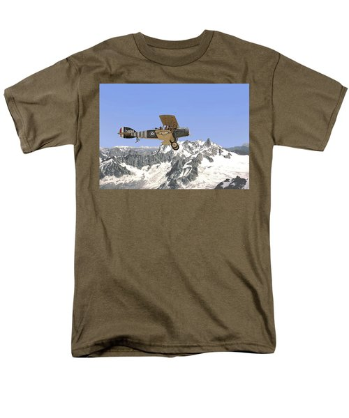 Men's T-Shirt  (Regular Fit) featuring the photograph Ww1 - Bristol Fighter by Pat Speirs